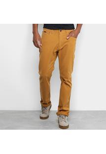 Calça Jeans Slim Globe Color Masculina - Masculino-Roxo