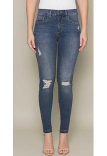 Calça Jeans Escultural Azul