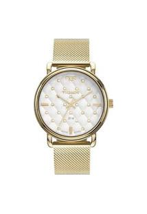 Relógio Technos Feminino Trend Analógico Dourado 2039Co4K