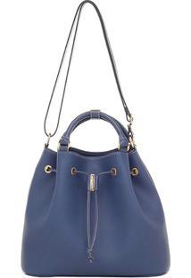 Bolsa/Saco Smartbag Transversal - Feminino-Azul