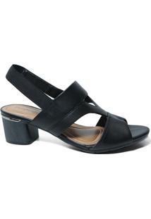 f0b12c364 Sandália Com Salto Comfortflex feminina   Gostei e agora?