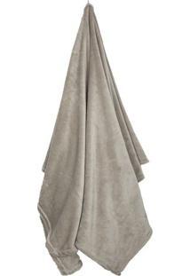 Cobertor Loft Solteiro- Bege- 150X220Cm- Camesacamesa