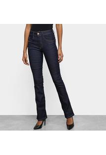 Calça Jeans Biotipo Melissa Flare Feminina - Feminino