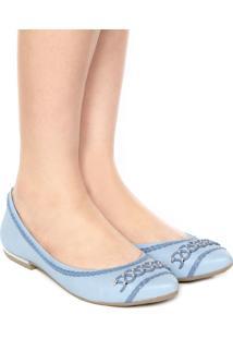 Sapatilha Dakota Bico Fino Azul