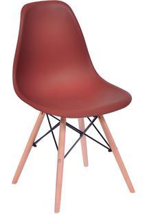 Cadeira Em Mdp/Mdf Base Escura 1102-Or Design - Telha