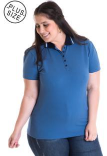 ced6f3529 Ir para a loja; -38% Camisa Polo Konciny Piquet Estampado 96310 Azul