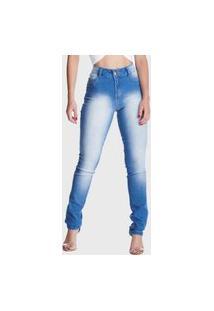 Calça Jeans Hno Jeans Super Lipo Used Azul