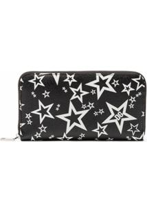 Dolce & Gabbana Carteira Com Zíper E Estampa Millennials Star - Preto