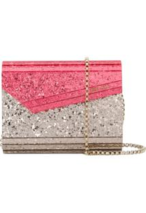 Jimmy Choo Clutch 'Candy' - Rosa