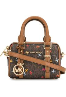 Michael Michael Kors Bedford Legacy Xs Crossbody Bag - Marrom