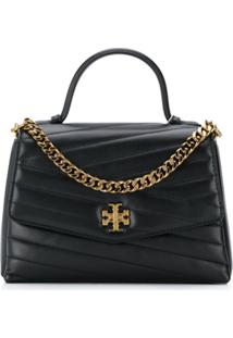Tory Burch Kira Quilted Tote - Preto