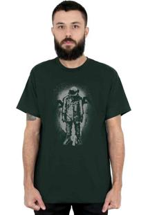 Camiseta 182Life The Astronaut Musgo