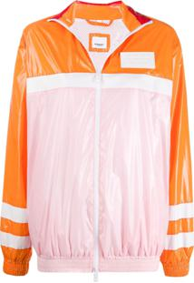 Burberry Colour Block High-Shine Jacket - Rosa