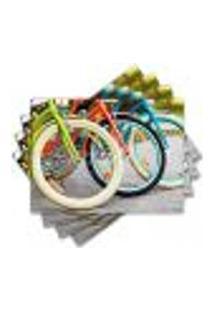 Jogo Americano - Bicicleta Com 4 Peças - 852Jo