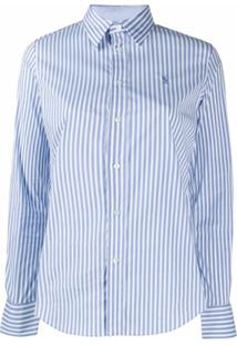 Polo Ralph Lauren Striped Slim Fit Shirt - Azul
