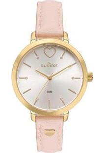 Relógio Condor Feminino Bem Querer Dourado Analógico Co2036Mvbk3D - Feminino