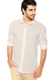 Camisa Colcci Estampa Off-White