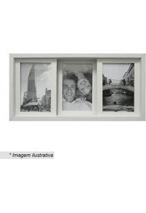 Painel Slide Para 3 Fotos- Branco- 19X38Cmkapos