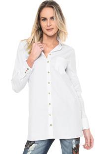 Camisa Lança Perfume Lisa Branca