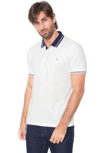 Camisa Polo Aramis Reta Listras Off-White