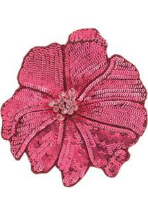 Racil Broche Floral - Vermelho