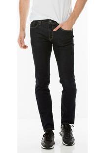 Calça Jeans Levis 511 Slim Masculino - Masculino-Preto