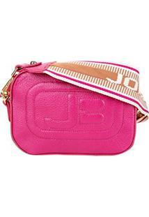 Bolsa Couro Jorge Bischoff Mini Bag New Pápicra Feminina - Feminino-Vermelho