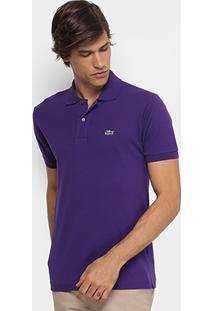 Camisa Polo Lacoste Piquet Original Masculina - Masculino