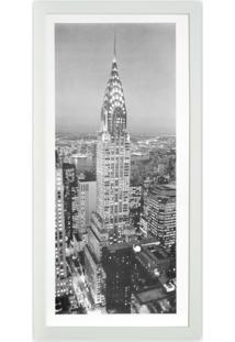 Quadro New York Ii Kapos Branco 54X27Cm