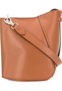 Lanvin Hook Small Shoulder Bag - Marrom