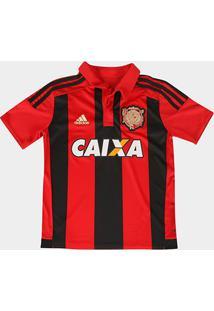 Camisa Adidas Sport Recife I 15/16 S/Nº Infantil C/ Patrocínio - Masculino