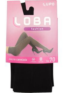 05995a962 ... Meia-Calça Lupo Fashion Fio 70 Canelada Preta