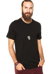 Camiseta Triton Brasil Bordado Preta