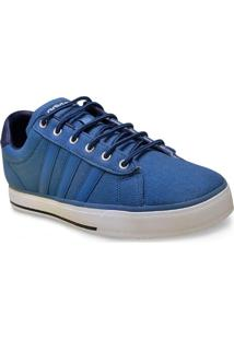 Tenis Masc Adidas F99634 Daily Azul