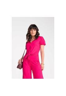 Camisete Chita Brasil Viscose Span Pink