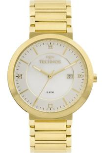 ... Relógio Technos St.Moritz 2115Ktl 4B Feminino - Feminino-Dourado 71ac0f9720