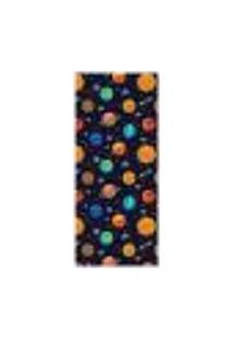 Adesivo Decorativo De Porta - Planetas - Infantil - 2562Cnpt