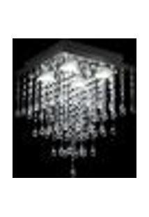 Lustre De Acrílico Pirâmide Sintra Para 4 Lâmpadas Dicroicas Soquete Gu10 - Sintra-28