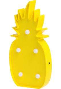 Luminária Le Pinpop Abacaxi Amarela
