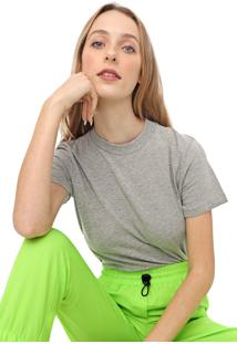 Camiseta Colcci Lisa Cinza