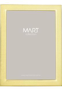 Porta Retrato Mart Em Metal 20X25 Dourado