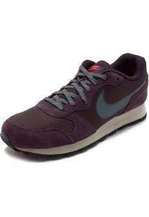 Tênis Nike Md Runner 2 Se Vinho