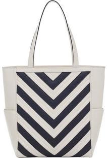 Bolsa Smartbag Tiracolo Recortes - 73045.18 - Feminino-Creme