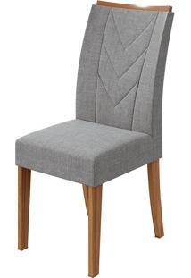 Cadeira Atacama Linho Gris Rovere Naturale