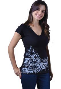 Camiseta C1C A Noite Preto