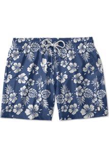 Short Praia Use Thuco Flores Branca Th057
