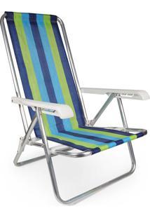 Cadeira Reclinável Alumínio 4 Posições 2230
