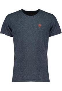 Camiseta Salt 35G Stripes Masculina - Masculino-Marinho