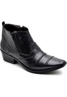 Bota Top Franca Shoes Country - Masculino-Preto