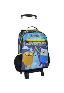 "Mochila Rodinha Hora De Aventura Adventure ""Til You Drop"""